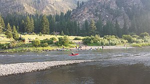 Scouting in Idaho - Salmon River High Adventure Base
