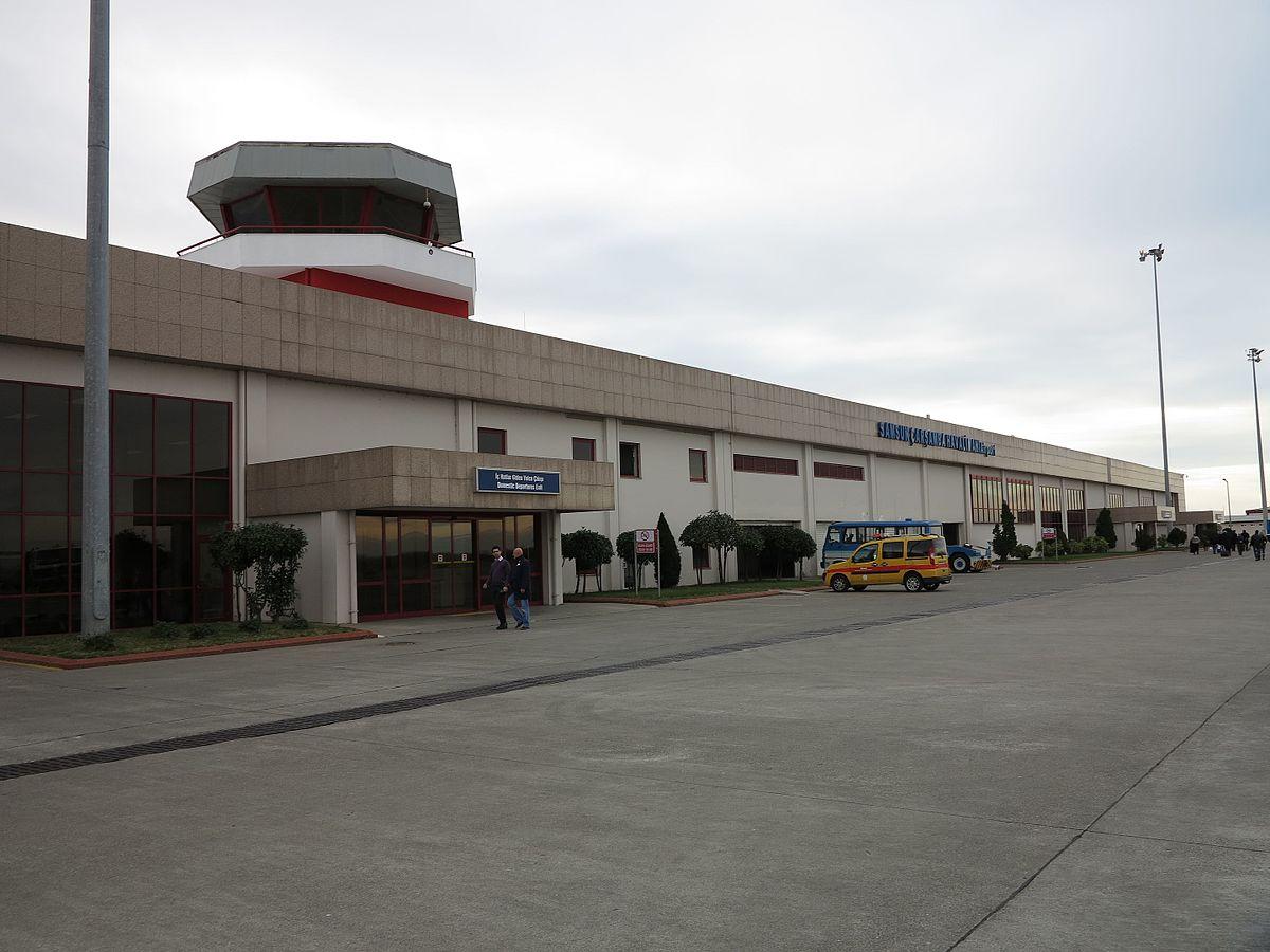 Samsun-Çarşamba Airport - Wikipedia