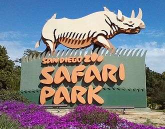 San Diego Zoo Safari Park - Image: San Diego Zoo Safari Park roadside sign 2014
