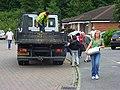 Sandbag delivery, Charvil - geograph.org.uk - 504351.jpg