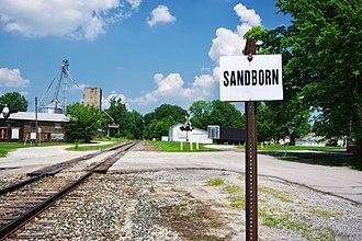 Sandborn, Indiana - Sandborn