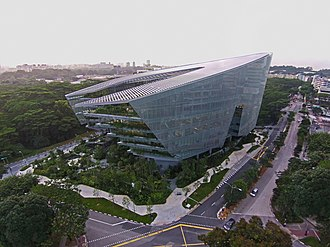Lucasfilm Animation - Sandcrawler (CX2-1) is an eight-story building owned by Lucas Real Estate Singapore and home to Lucasfilm Singapore, Walt Disney Company (Southeast Asia) and ESPN Asia Pacific designed by Aedas.