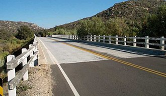 California County Routes in zone S - Image: Sandiegos 1photoa
