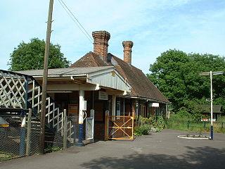 Sandling railway station