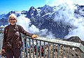 Sanne at the top of the Schilthorn (10955604593).jpg