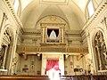 Sant'Andrea Apostolo, interno, cantoria ed organo (Arquà Polesine).JPG