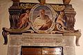 Santa lucia alla castellina, ex-monastero, portali con santi della scuola del meucci 02.JPG