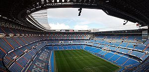 Football in Spain - Santiago Bernabeu, Real Madrid's Stadium.