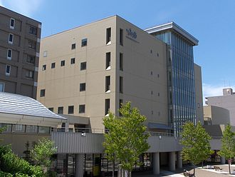 Go to the Future - The album was recorded at two locations in Sapporo, the Sapporo Lifelong Learning Center (pictured) and the Yamaha Center.