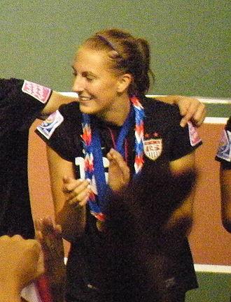 Sarah Killion - Killion at the U20 World Cup in 2012
