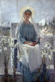 Sarah Paxton Ball Dodson, Meditation of the Holy Virgin, 1889.png