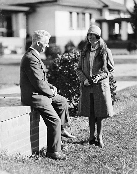 Scullin and his wife Sarah in about 1930 Sarah and James Scullin 02.jpg
