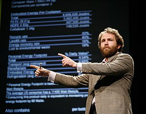 Saul Griffith - Saul Griffith giving a talk at Poptech 2008