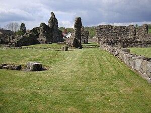 Sawley, Lancashire - Image: Sawley Abbey