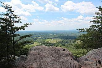 Sawnee Mountain - Sawnee Mountain view