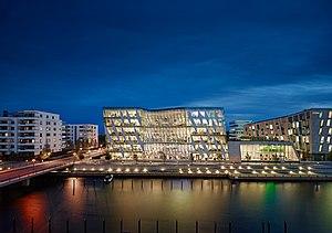 Saxo Bank - Saxo Bank HQ in Hellerup, Denmark