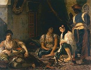 Scène algérienne, femmes d'Alger