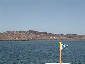 Colonsay - Scalasaig from the Port Askaig ferry