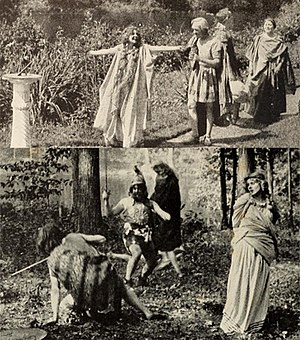 Ingomar, the Barbarian - Scenes from the film