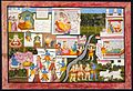 Scenes from the Life of Krishna, Folio from a Bhagavata Purana (Ancient Stories of the Lord) LACMA M.81.272.2.jpg