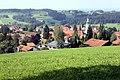 Scheidegg, view from the Höhenweg to the village.jpg