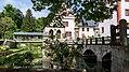 Schloss Kochberg Wassergraben und Holzbrücke I.jpg