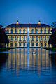 Schlosspark Oberschleißheim, neues Schloss, Ostfassade (LR 5 processing) (13599931263).jpg