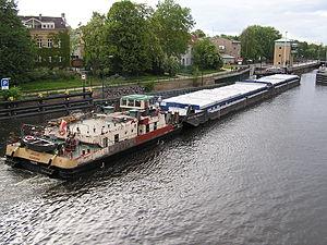 Haselhorst - Havel river between Spandau and Haselhorst