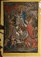 Scuola toscana, madonna in gloria e santi, xviii secolo.jpg