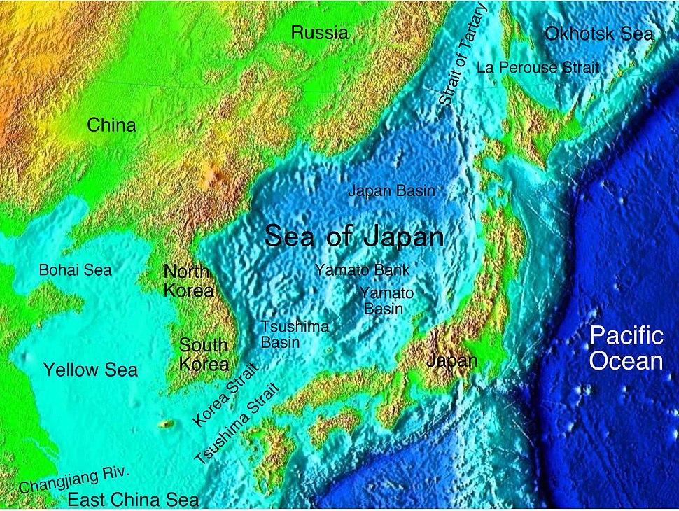 Sea of Japan descr