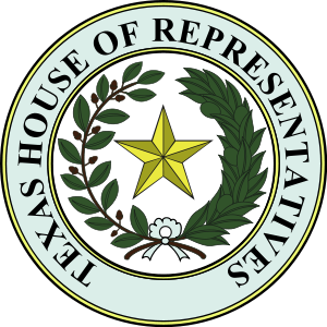 English: Seal of Texas House of Representatives
