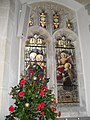Seasonal decorations within St James, Birdham (3) - geograph.org.uk - 1635486.jpg