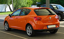 Seat Ibiza (6J) – Heckansicht, 25. April 2011, Ratingen.jpg