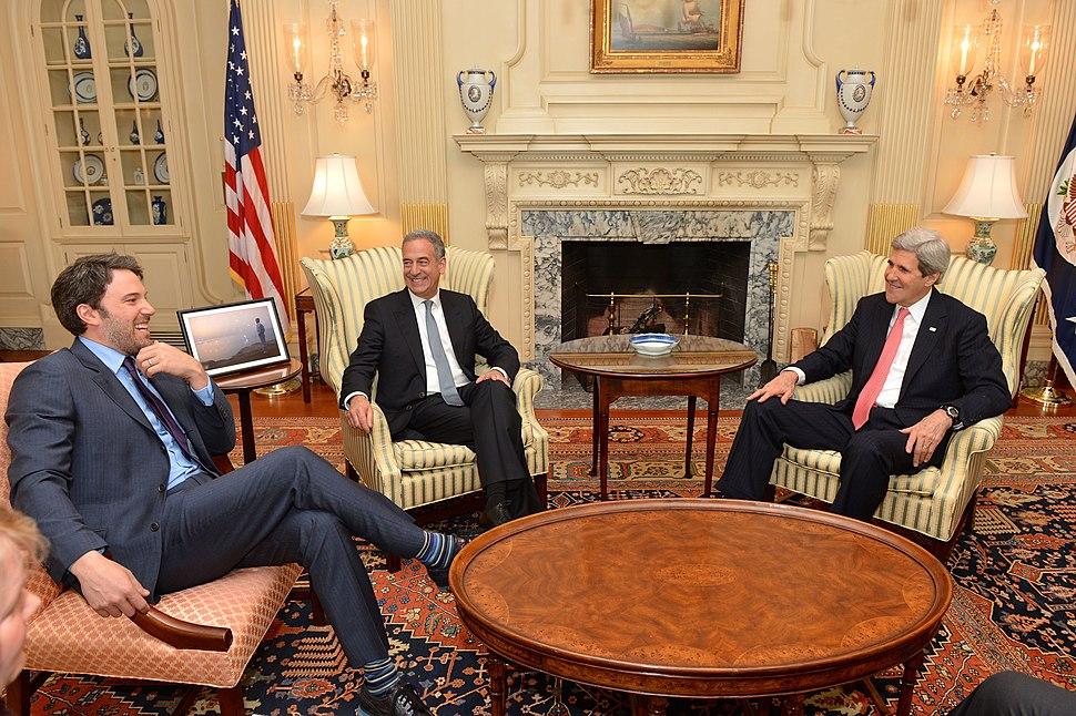 Secretary Kerry Meets With Ben Affleck (12797462584)