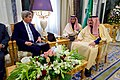 Secretary Kerry Sits With King Salman (31570308472).jpg