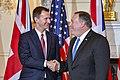 Secretary Pompeo Welcomes UK Foreign Secretary Hunt to Washington (39898530683).jpg
