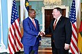 Secretary Pompeo meets with Central African Republic President Faustin-Archange Touadera (33709600698).jpg