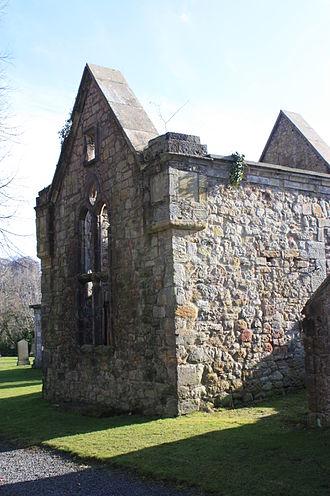 John Clerk, Lord Eldin - Section of Lasswade old kirk used as the Eldin vault