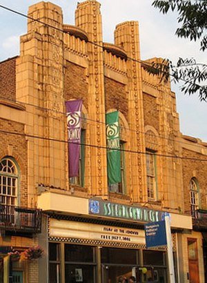 Mount Airy, Philadelphia - The Sedgwick Theater in Mount Airy, a 1920s Art Deco movie theatre