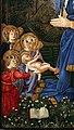 Seguace di filippo lippi, adorazione del bambino, 1460 ca. 02.jpg
