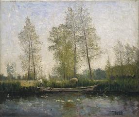 Seine. Motif from St Germain
