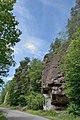 Seis am Schlern Vulkanische Tuffe und Kapelle.jpg