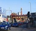 Selly Oak Railway Bridge over the A38 Bristol Road - geograph.org.uk - 1122623.jpg