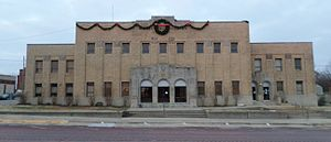 Seminole, Oklahoma - The Seminole Municipal Building, which is on the National Register of Historic Places