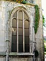 Senlis (60), ancienne église St-Aignan, baie du transept nord.jpg