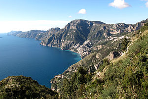 Amalfi Coast - View of the Amalfi Coast