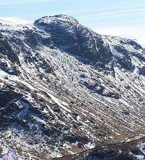 Sergeants Crag mountain in United Kingdom