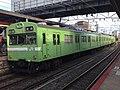 Series 103 NS407 in Inari Station.jpg
