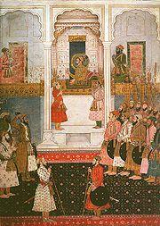 Shah Jahan's court
