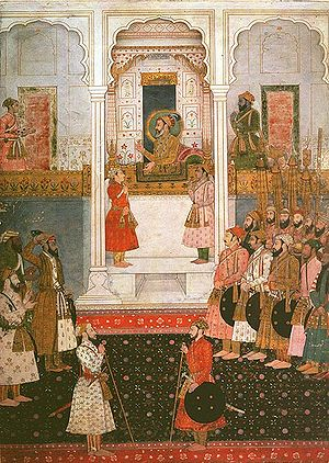 History of Hindustani - Shah Jahan's court in Delhi